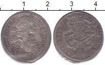 Изображение Монеты Австрия 3 крейцера 1697 Серебро XF