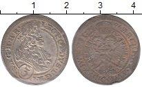 Изображение Монеты Австрия 3 крейцера 1669 Серебро XF