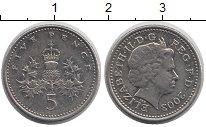 Изображение Барахолка Великобритания 5 пенсов 2003 Медно-никель XF