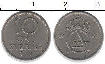 Изображение Дешевые монеты Швеция 10 эре 1964 Медно-никель XF