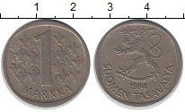 Изображение Барахолка Финляндия 1 марка 1984 Медно-никель XF-