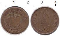 Изображение Дешевые монеты Ирландия 1 пенни 1978 Медь XF