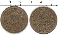 Изображение Дешевые монеты Тунис 100 миллим 1983 Медно-никель XF