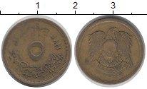 Изображение Дешевые монеты Египет 5 миллим 1973 Латунь XF