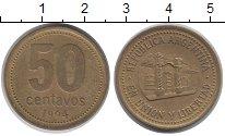 Изображение Барахолка Аргентина 50 сентаво 1994 Латунь XF