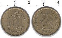 Изображение Дешевые монеты Финляндия 10 пенни 1982 Медно-никель XF