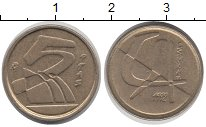Изображение Дешевые монеты Испания 5 песет 1992 Медно-никель XF