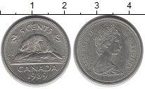 Изображение Дешевые монеты Канада 5 центов 1989 Медно-никель XF
