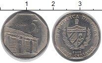 Изображение Барахолка Куба 5 сентаво 2000 Медно-никель UNC