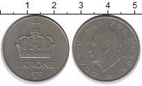 Изображение Барахолка Норвегия 1 крона 1979 Медно-никель XF-