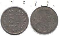 Изображение Барахолка Аргентина 50 сентаво 1954 Медно-никель VF