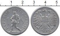 Изображение Барахолка Австрия 1 шиллинг 1947 Алюминий XF-
