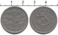 Изображение Дешевые монеты Финляндия 1 марка 1974 Медно-никель XF-