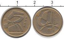 Изображение Дешевые монеты Испания 5 песет 1992 Латунь XF-