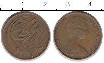 Изображение Дешевые монеты Австралия 2 цента 1966 Латунь XF