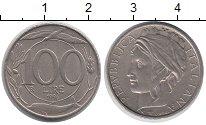 Изображение Дешевые монеты Италия 100 лир 1996 Медно-никель XF