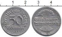 Изображение Дешевые монеты Германия 50 пфеннигов 1922 Алюминий XF-