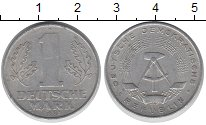 Изображение Дешевые монеты ГДР 1 марка 1962 Алюминий XF-