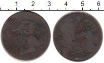 Изображение Дешевые монеты Италия 5 чентезимо 1866 Медь F
