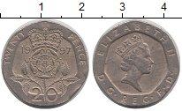 Изображение Дешевые монеты Великобритания 20 пенсов 1997 Медно-никель XF-