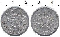 Изображение Барахолка Австрия 50 грошей 1947 Алюминий XF-