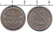 Изображение Дешевые монеты Португалия 2 1/2 сентима 1973 Медно-никель XF
