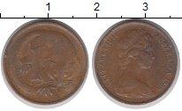 Изображение Дешевые монеты Австралия 1 цент 1966 Медь XF-