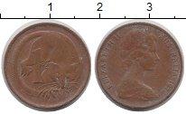 Изображение Дешевые монеты Австралия 1 цент 1976 Медь VF+