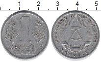 Изображение Дешевые монеты ГДР 1 марка 1956 Алюминий VF+