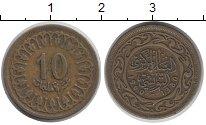 Изображение Дешевые монеты Тунис 10 миллим 1960 Медно-никель XF