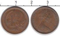 Изображение Дешевые монеты Австралия 1 цент 1967 Медь XF