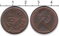 Изображение Дешевые монеты Австралия 2 цента 1966 Медь XF