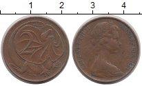Изображение Дешевые монеты Австралия 2 цента 1966 Латунь VF