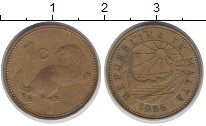Изображение Дешевые монеты Мальта 1 скудо 1986 Латунь VF