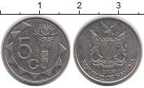 Изображение Барахолка Намибия 5 центов 2009 Медно-никель XF