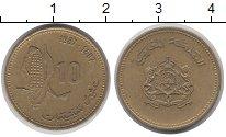 Изображение Дешевые монеты Марокко 10 сантим 1987 Медно-никель XF