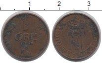 Изображение Дешевые монеты Норвегия 1 эре 1940 Латунь VF