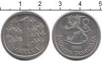 Изображение Дешевые монеты Финляндия 1 марка 1988 Медно-никель XF-
