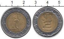 Изображение Барахолка Сан-Марино 500 лир 1995 Биметалл XF