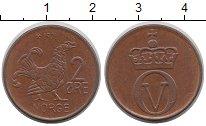 Изображение Дешевые монеты Норвегия 2 эре 1971 Медь XF