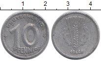 Изображение Барахолка Германия 10 пфеннигов 1948 Алюминий VF