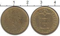 Изображение Дешевые монеты Португалия 5 эскудо 1988 Латунь XF