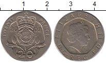 Изображение Барахолка Великобритания 20 пенсов 2002 Медно-никель XF-