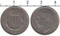 Изображение Дешевые монеты Люксембург 1 франк 1968 Медно-никель XF-