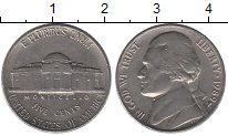 Изображение Барахолка США 5 центов 1989 Медно-никель XF-