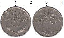 Изображение Дешевые монеты Ирак 25 филс 1971 Латунь-сталь XF-