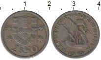 Изображение Дешевые монеты Португалия 2,5 эскудо 1965 Медно-никель XF