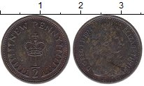 Изображение Дешевые монеты Великобритания 1/2 пенни 1974 Медь XF