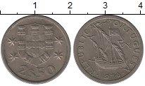Изображение Дешевые монеты Португалия 2 1/2 эскудо 1976 Медно-никель VF-