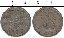 Изображение Дешевые монеты Португалия 2 1/2 эскудо 1969 Медно-никель VF
